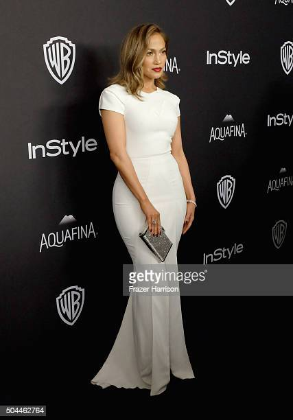 Actress/singer Jennifer Lopez attends InStyle and Warner Bros. 73rd Annual Golden Globe Awards Post-Party at The Beverly Hilton Hotel on January 10,...