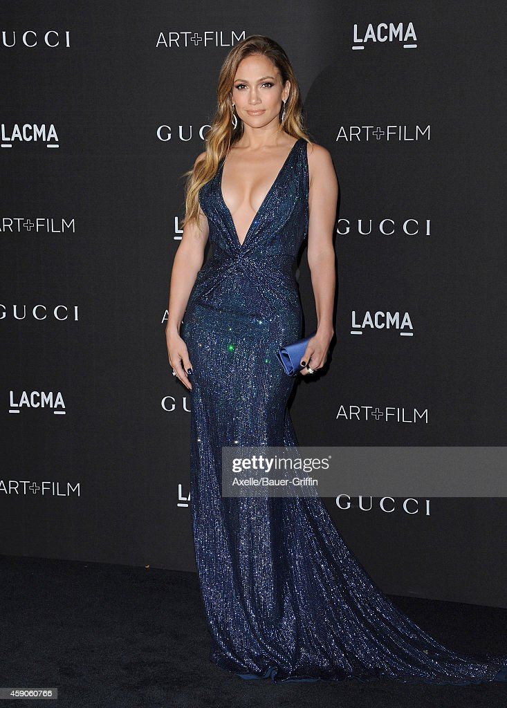 Actress/singer Jennifer Lopez attends the 2014 LACMA Art + Film Gala Honoring Barbara Kruger And Quentin Tarantino Presented By Gucci at LACMA on November 1, 2014 in Los Angeles, California.
