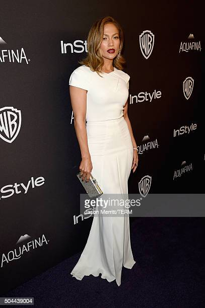 Actress/singer Jennifer Lopez attends The 2016 InStyle And Warner Bros 73rd Annual Golden Globe Awards PostParty at The Beverly Hilton Hotel on...