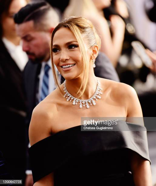 Actress/singer Jennifer Lopez attends the 26th annual Screen Actors Guild Awards at The Shrine Auditorium on January 19, 2020 in Los Angeles,...