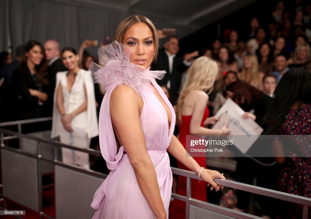Actress/Singer Jennifer Lopez attends The 59th GRAMMY Awards at STAPLES Center on February 12, 2017 in Los Angeles, California.