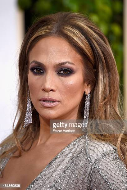 Actress/singer Jennifer Lopez attends the 72nd Annual Golden Globe Awards at The Beverly Hilton Hotel on January 11 2015 in Beverly Hills California