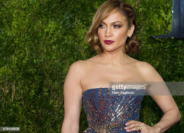 Actress/Singer Jennifer Lopez attends the American Theatre Wing's 69th Annual Tony Awards at Radio City Music Hall on June 7 2015 in New York City