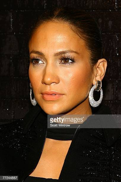 Actress/singer Jennifer Lopez attends the celebration for the release of her new album titled Brave at Buddakan October 9 2007 in New York City