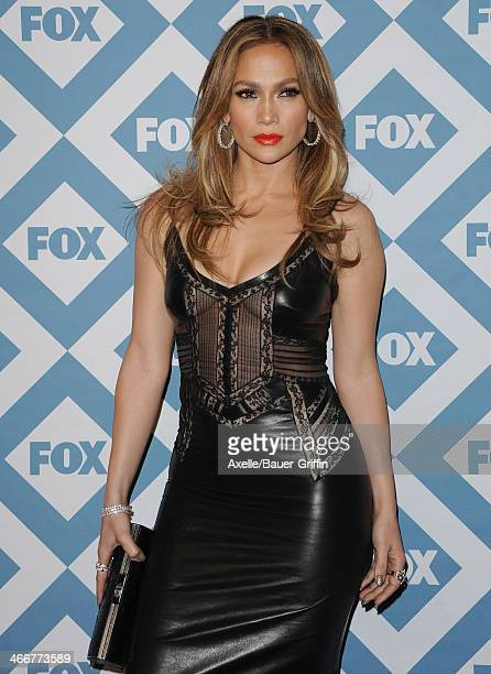 Actress/singer Jennifer Lopez attends the FOX AllStar 2014 Winter TCA Party at The Langham Huntington Hotel and Spa on January 13 2014 in Pasadena...