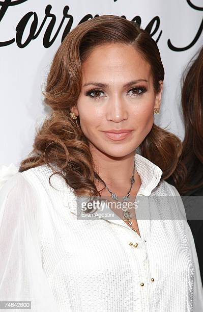 Actress/singer Jennifer Lopez attends the Lorraine Schwartz Diamond Monkey Collection launch party at the Monkey Bar on June 20 2007 in New York City