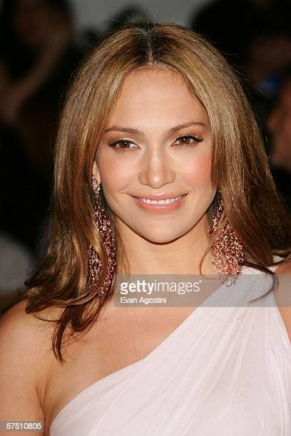 Actress/singer Jennifer Lopez attends the Metropolitan Museum of Art Costume Institute Benefit Gala Anglomania at the Metropolitan Museum of Art May...