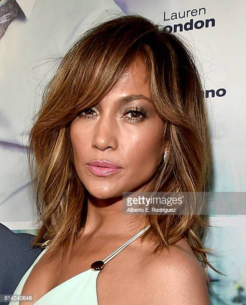 Actress/singer Jennifer Lopez attends the premiere of Lionsgate's 'The Perfect Match' at ArcLight Hollywood on March 7 2016 in Hollywood California