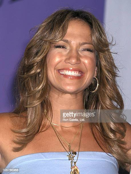 Actress/Singer Jennifer Lopez attends the Third Annual Teen Choice Awards on August 12 2001 at Universal Amphitheatre in Universal City California