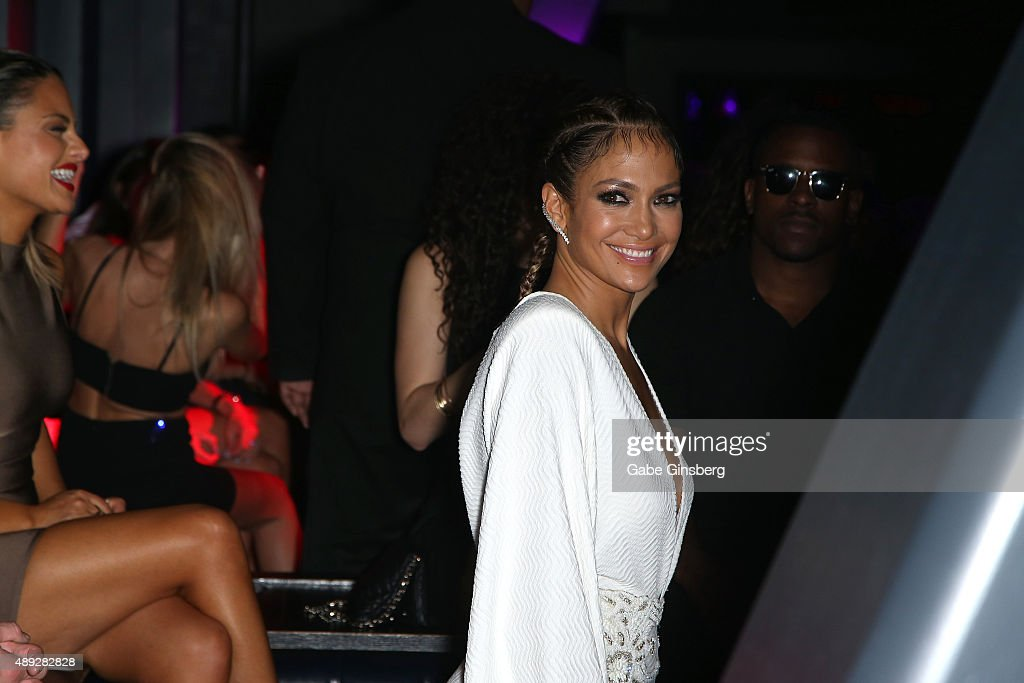 d0f04d484c38 Jennifer Lopez At Chateau Nightclub   Rooftop At Paris Las Vegas For Her  Residency Launch Party