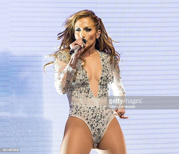 Actress/singer Jennifer Lopez performs during 103.5 KTU's KTUphoria 2014 at the Izod Center on June 29, 2014 in East Rutherford, New Jersey.