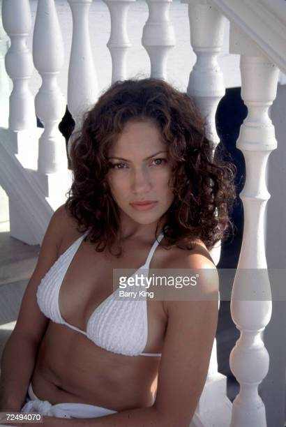 Actress/singer Jennifer Lopez poses for a photo May 15 1997 at Club Med in the Bahamas