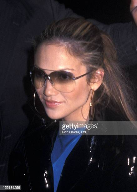 Actress/Singer Jennifer Lopez visits 'The Late Show with David Letterman' on February 6 2001 at Ed Sullivan Theatre in New York City