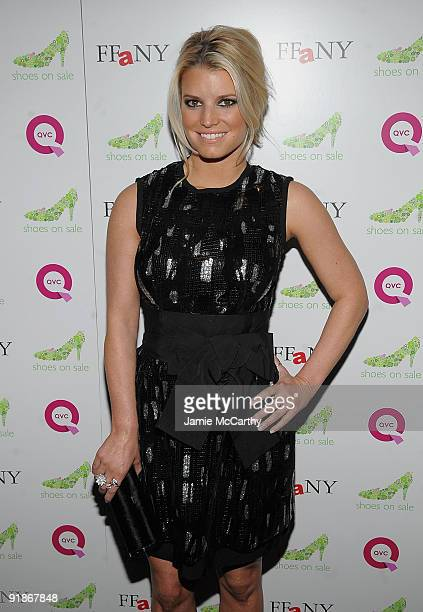 960f4c8790e74f Actress Singer Jessica Simpson attends the 16th Annual QVC Presents FFANY  Shoes On Sale event