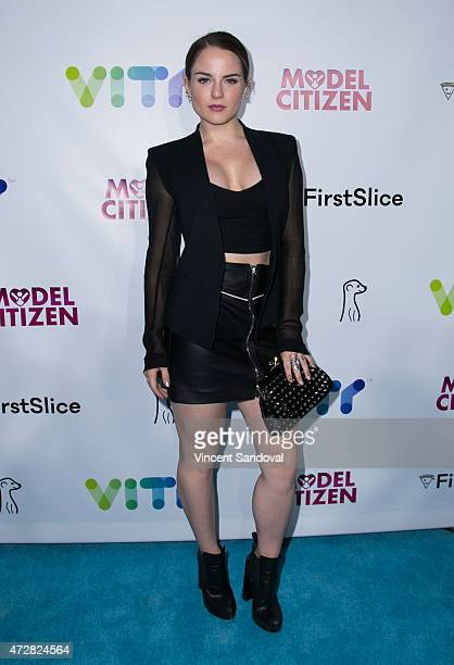 Actress/singer Joanna 'JoJo' Levesque attends the VITY concert experience launch party at Siren Studios on May 9 2015 in Hollywood California