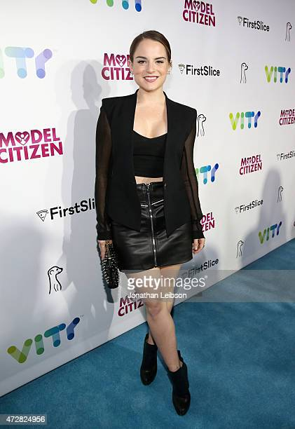 Actress/singer Joanna 'JoJo' Levesque attends the VITY Launch Party and VITY Concert Experience at Siren Studios on May 9 2015 in Hollywood California