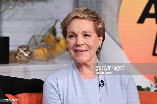 Actress/singer Julie Andrews visit BuzzFeed's AM To DM on October 15 2019 in New York City