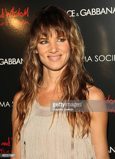 Actress/singer Juliette Lewis attends a screening of Filth and Wisdom hosted by The Cinema Society and Dolce and Gabbana at the IFC Center on October...