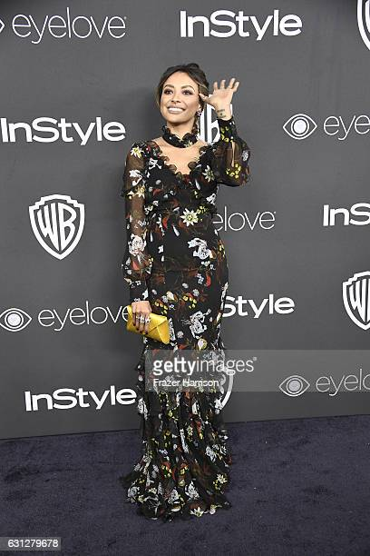 Actress/singer Kat Graham attends the 18th Annual PostGolden Globes Party hosted by Warner Bros Pictures and InStyle at The Beverly Hilton Hotel on...