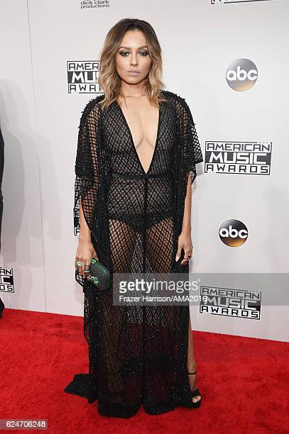Actress/singer Kat Graham attends the 2016 American Music Awards at Microsoft Theater on November 20 2016 in Los Angeles California