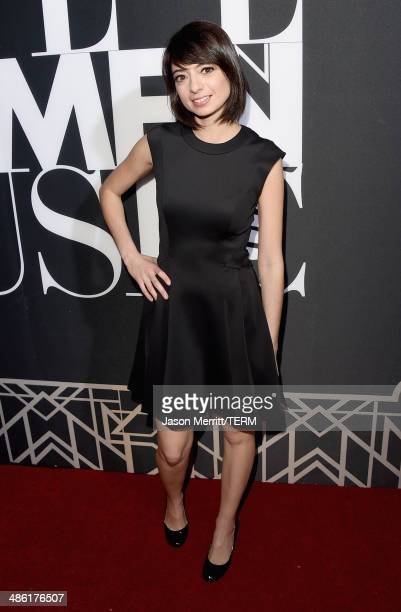 Actresssinger Kate Micucci of Garfunkel and Oates attends the 5th Annual ELLE Women in Music Celebration presented by CUSP by Neiman Marcus Hosted by...