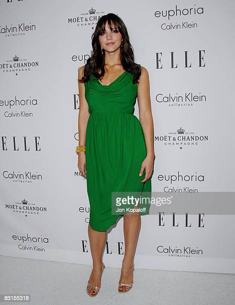 """Actress/singer Katharine McPhee arrives at """"Elle Magazine's 15th Annual Women in Hollywood Tribute"""" at the Four Seasons Hotel on October 6, 2008 in..."""