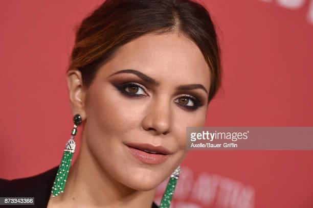 Actress/singer Katharine McPhee arrives at SAGAFTRA Foundation Patron of the Artists Awards 2017 on November 9 2017 in Beverly Hills California