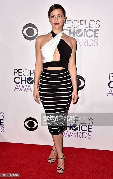 Actress/singer Katharine McPhee attends The 41st Annual People's Choice Awards at Nokia Theatre LA Live on January 7 2015 in Los Angeles California