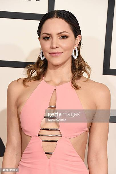 Actress/singer Katharine McPhee attends The 57th Annual GRAMMY Awards at the STAPLES Center on February 8, 2015 in Los Angeles, California.