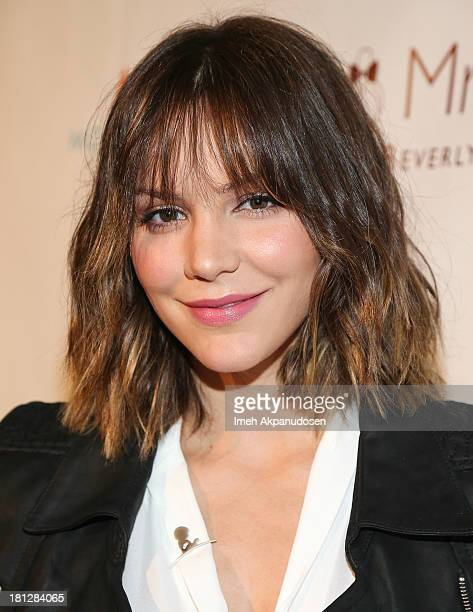 Actress/singer Katharine McPhee attends the Los Angeles Confidential celebration of Emmys Week on September 19 2013 in Beverly Hills California