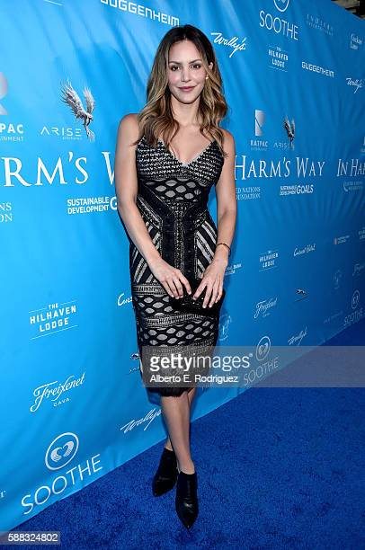 Actress/Singer Katharine McPhee attends the special event for UN SecretaryGeneral Ban Kimoon hosted by Brett Ratner and David Raymond at Hilhaven...