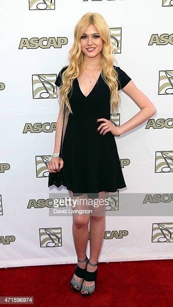 Actress/singer Katherine McNamara attends the 32nd Annual ASCAP Pop Music Awards at the Lowes Hollywood Hotel on April 29, 2015 in Hollywood,...