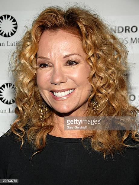 Actress/singer Kathie Lee Gifford arrives to the People en Espanol and The Smithsonian Latino Center's Celebration of Bella and Alejandro Sanz's el...