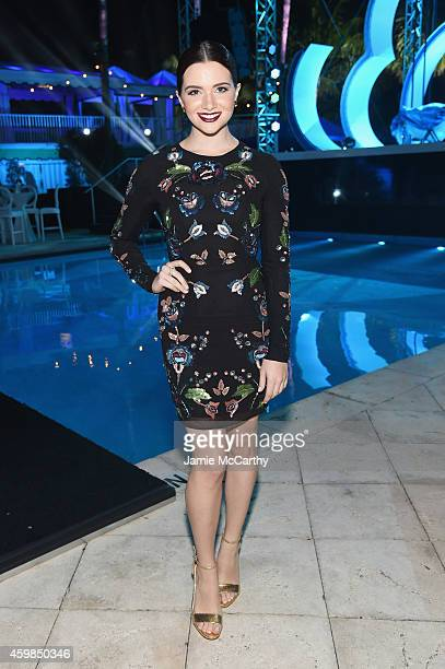 Actress/singer Katie Stevens attends Logo TV's 2014 NewNowNext Awards at the Kimpton Surfcomber Hotel on December 2 2014 in Miami Beach Florida