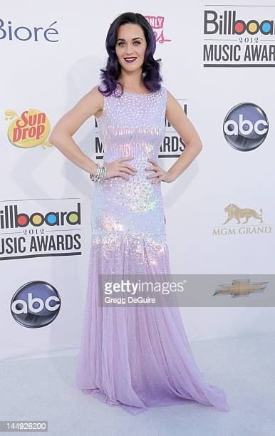 Actress/singer Katy Perry arrives at the 2012 Billboard Music Awards at MGM Grand on May 20 2012 in Las Vegas Nevada