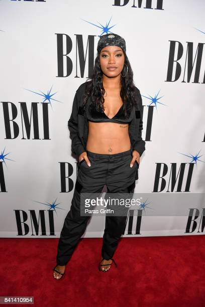 Actress/Singer Keke Palmer attends the 2017 BMI RB/HipHop Awards at Woodruff Arts Center on August 31 2017 in Atlanta Georgia