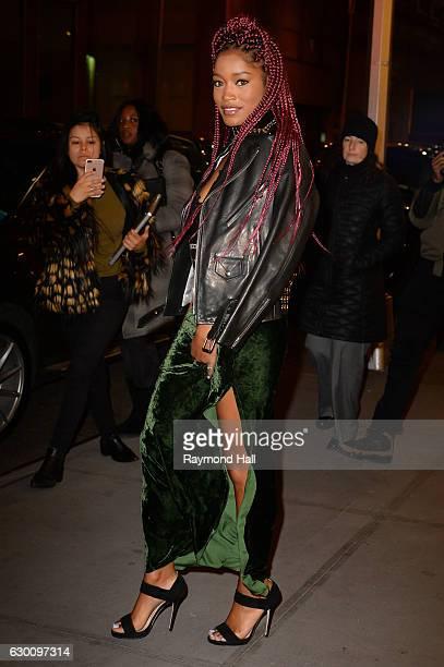 Actress/Singer Keke Palmer is seen walking in Soho on December 16 2016 in New York City