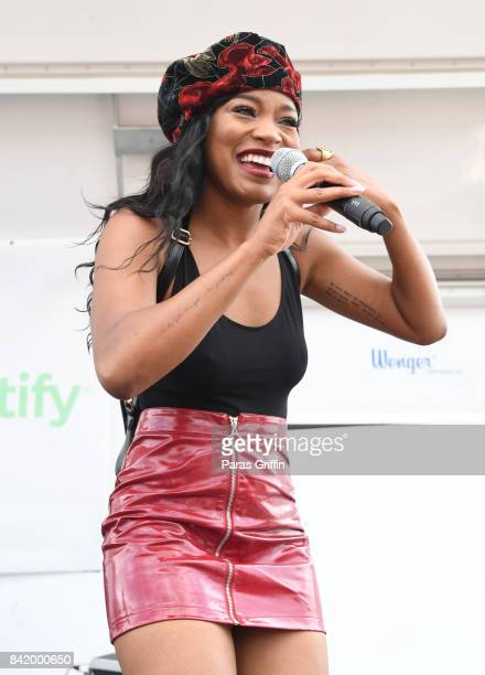 Actress/singer KeKe Palmer performs onstage at Ambitious X and Ludacris Foundation presents 2017 Luda Fam Day on September 2 2017 in Atlanta Georgia