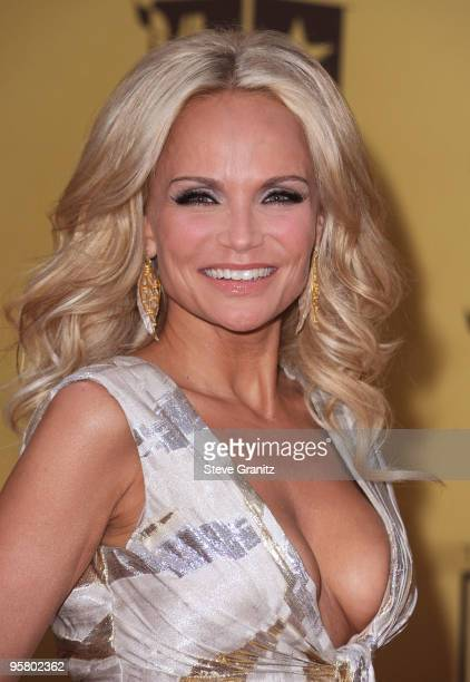 Actress/singer Kristin Chenoweth arrives at the 15th annual Critic's Choice Movie Awards held at Hollywood Palladium on January 15 2010 in Hollywood...