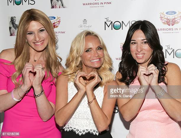 Actress/singer Kristin Chenoweth celebrates her newest album 'The Art Of Elegance' with Denise Albert and Melissa Musen Gerstein of MAMARAZZI at The...