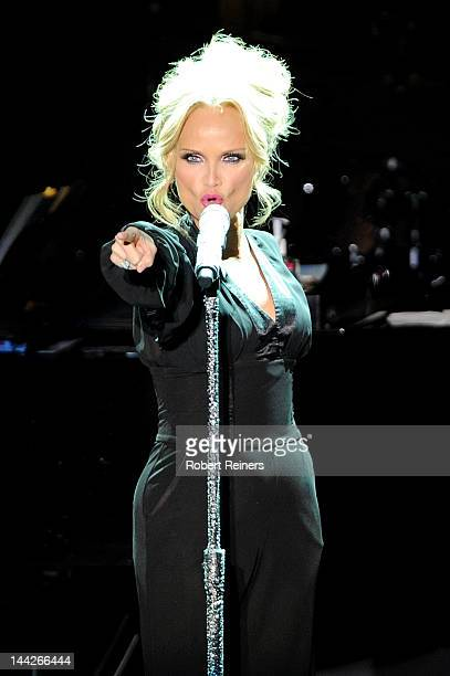 Actress/singer Kristin Chenoweth performs at The Greek Theatre on May 12 2012 in Los Angeles California