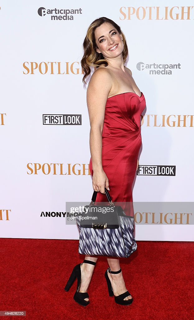 Actress/singer Laura Michelle Kelly attends the 'Spotlight' New York premiere at Ziegfeld Theater on October 27, 2015 in New York City.