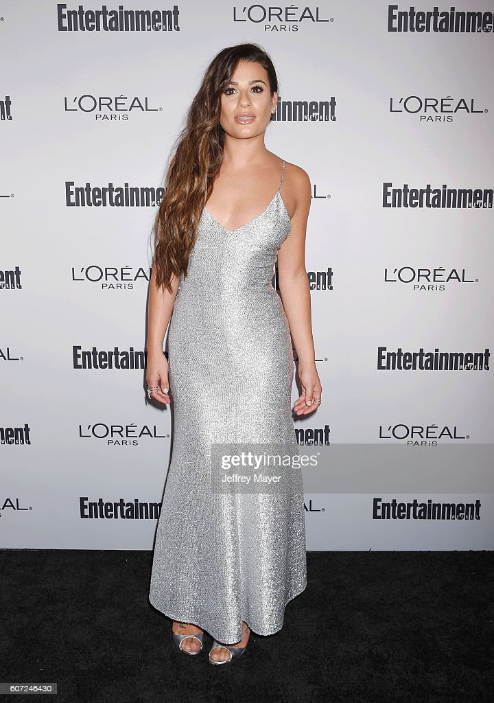 Actress/singer Lea Michele attends the Entertainment Weekly's 2016 Pre-Emmy Party held at Nightingale Plaza on September 16, 2016 in Los Angeles, California.