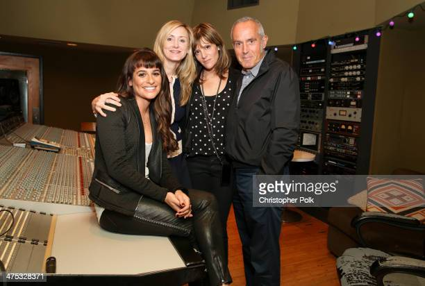Actress/singer Lea Michele Untitled Entertainment's Alissa Vradenburg Pulse Recordings' Anne Preven and President Columbia Records Ashley Newton...