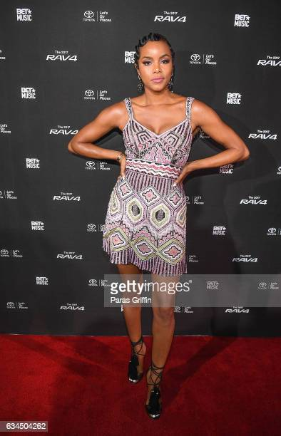 Actress/singer Letoya Luckett attends 2017 BET Music Grammy Showcase at The Sayers Club on February 9 2017 in Hollywood California