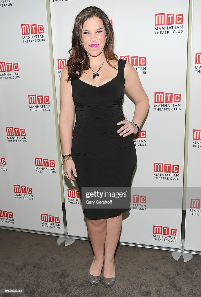 Actress/singer Lindsay Mendez attends the 2012 Manhattan Theatre Club Benefit: An Intimate Night at Jazz at Lincoln Center on January 28, 2013 in New York City.