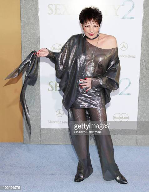 Actress/singer Liza Minnell attends the premiere of Sex and the City 2 at Radio City Music Hall on May 24 2010 in New York City