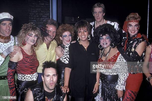 Actress/Singer Liza Minnelli actor Michael Lembeck actress Lorna Patterson musical director Jonny Bowden actress Vicki Lewis actor Nicholas Wyman...