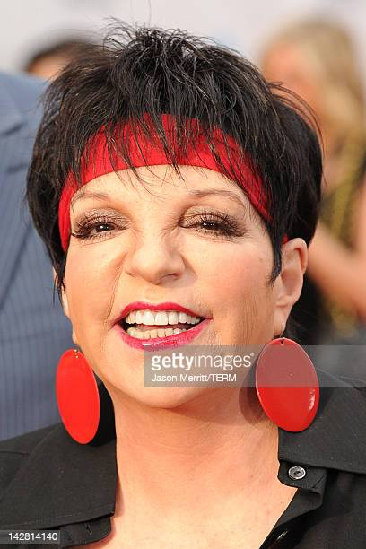 Actress/singer Liza Minnelli arrives at the 2012 TCM Classic Film Festival Opening Night Gala held at Grauman's Chinese Theatre on April 12, 2012 in...
