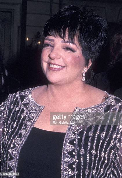 Actress/Singer Liza Minnelli attend the 16th Annual Drama League Gala Salute to Liza Minnelli on January 31, 2000 at the Pierre Hotel in New York...